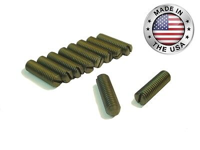 New Gib Adjustment Screws For 9 10k South Bend Lathes - Impossible To Find