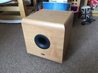 Eltax Active Subwoofer speaker home cinema sub woofer