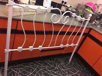 NEW METAL DOUBLE BED HEADBOARD ONLY