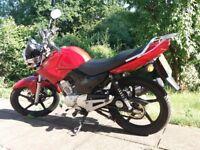 Yamaha YBR 125 motorcycle mint bike