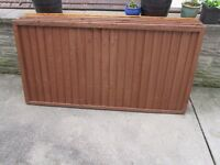 5 Fence Panels - Unused/Like New