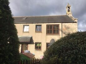 Large 2 bedroom flat for rent with parking in Blackburn (on bus route, 3 miles from airport)