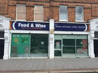 LARGE DOUBLE FRONTED SHOP TO LET ON A SUB LEASE AT VERY LOW RENT