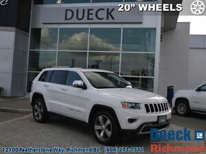 2015 Jeep Grand Cherokee Limited  20 Wheels, Power Sunroof