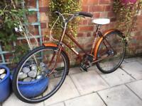 Vintage Raleigh bike women's bicycle 1970s bike