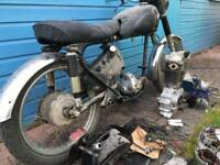 Motorcycle restoration project