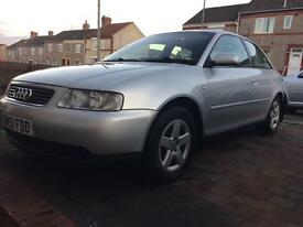 Audi A3 1.8 sport. £550ono. Bargain. Cash sale. Parts. Alloys.