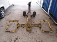Trailer Dolly Car Recovery Trailer Foldable Space Saving design + Accessories