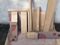 Howdens Burford Beech kitchen Doors and Drawer Fronts