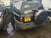 Land rover freelander 1 chrome spare wheel cover