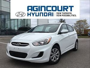 2016 Hyundai Accent GL/HEATED SEATS/BLUETOOTH/ONLY 43935KMS