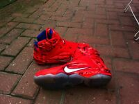 Nike LeBron xll uk size 8 use size 9 4th July Collection limited edition