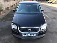 7 SEATER. 57REG VW TOURAN 1.9 TDI SE,DRIVES PERFECT,LOW MILEAGE,FULL SERVICE HISTORY,2 KEYS,LONG MOT