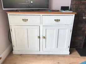 Wooden Cupboard Storage Sideboard Shabby Chic Project
