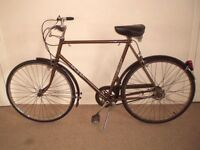 """Classic/Vintage/Retro Raleigh Esquire 23"""" Commuter/Town/City Bike (BRAND NEW tyres) (will deliver)"""