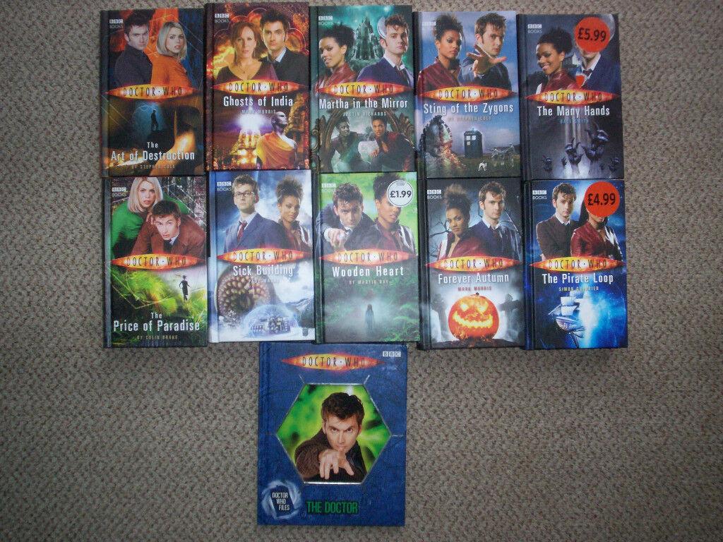 doctor who hardback books all new £1.00 each