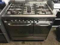Baumatic range gas cooker and electric ovens 90cm