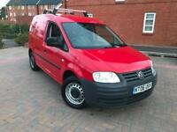 2006/06 VOLKSWAGEN CADDY VAN 2.0 SDI DIESEL YEARS MOT NO VAT!!! FREE WARRANTY