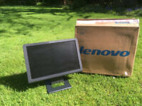 Lenovo L192 widescreen monitor - perfect working order and boxed