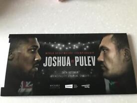 Anthony Joshua tickets