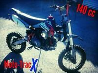 Pit bike demon x yx140 fast bike pitbike