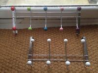 Over door hanging rails