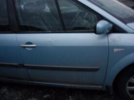 RENAULT SCENIC DYN DCI 2007 DRIVERS SIDE DOOR MIRROR