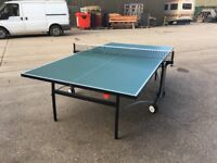 Dunlop EVO 5000 Green Outdoor Table Tennis Table (MINT CONDITION) *ASSEMBLED* COLLECTION ONLY