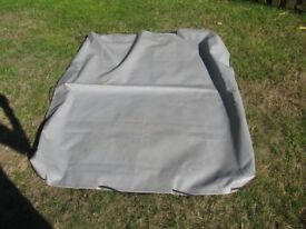 Small Trailer cover. 3ft. x 4ft. excellent condition