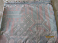 Super King size duvet cover and nine pillow cases. Condition as new