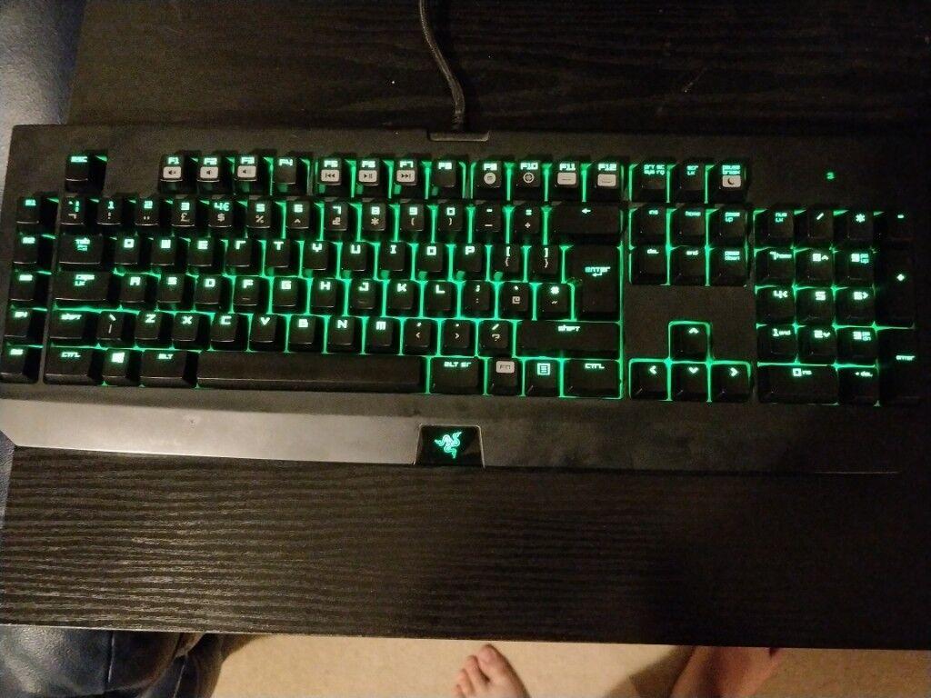Razer Blackwidow Chroma Mechanical Keyboard