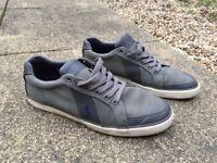 Mens Polo Ralph Lauren Green Trainers UK9 EU43 Textured Excellent Condition - £20
