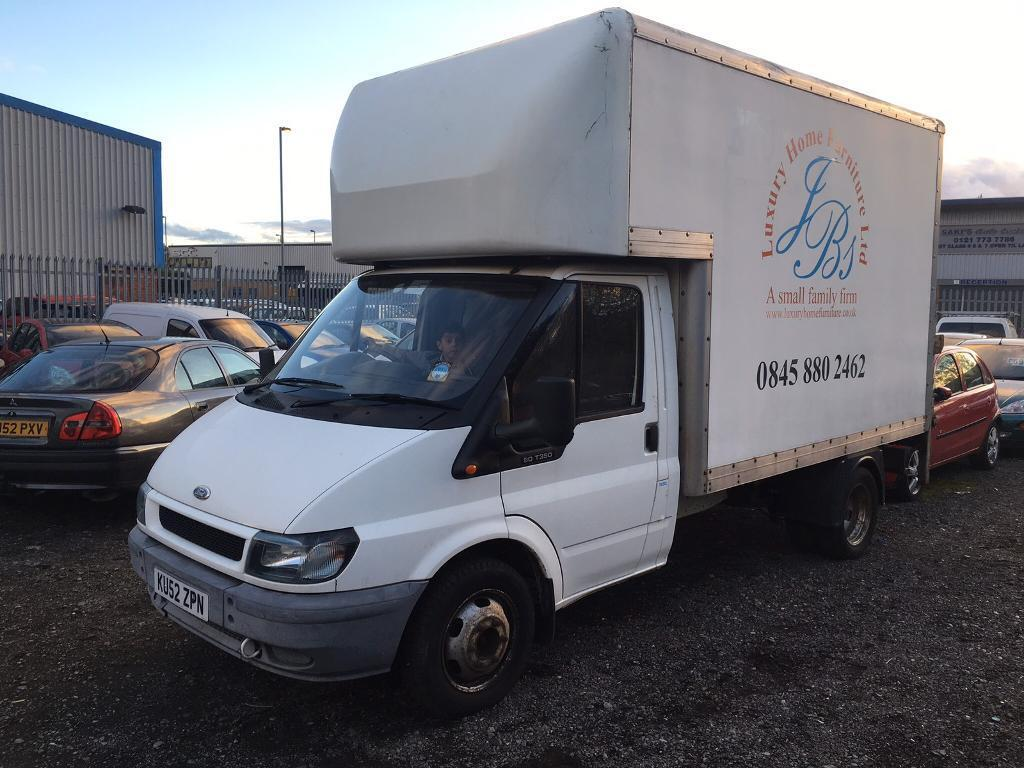 FORDTRANSIT350MLUTON24ccDIESELTAIL LIFT20021 OWNERWHITE