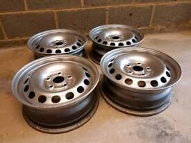 """VW 15"""" Steel Wheels"""
