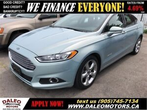 2014 Ford Fusion Hybrid SE| HYBRID| HEATED MIRRORS|POWER SEATS