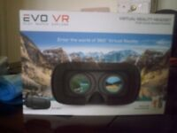 Evo VR Virtual Reality Headset to use with smartphone