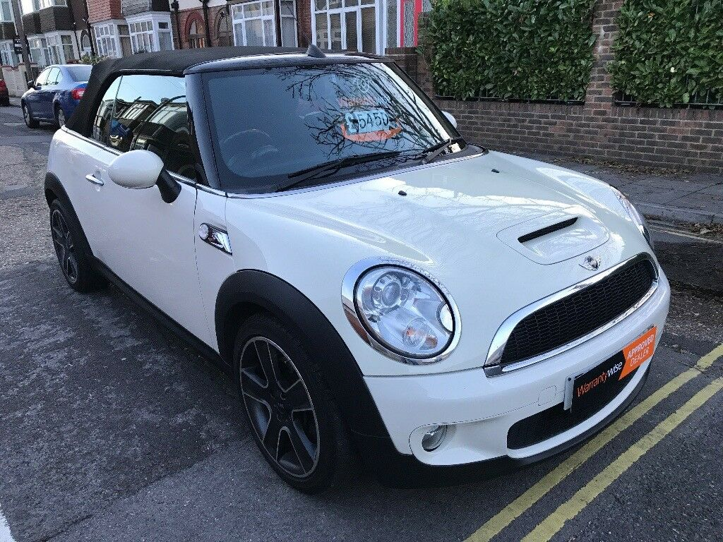 2009 Mini Cooper S Fuse Box Convertible Cream White Half Leather Long Mot And Optional