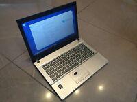 """Clevo W540SU Intel Pentium i5 2.9ghz, 8gb Ram, 500gb HDD 14"""" Laptop NoteBook"""