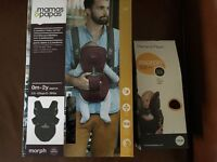 Mamas & Papas Morph Baby Carrier -New/not used, plum pudding