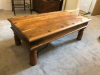 Solid high quality wooden coffee table. Excellent Cond. £50 o.n.o