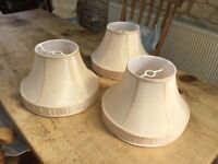 3 matching lamp shades - V. Good condition