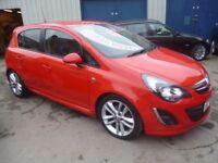 Vauxhall CORSA SRI CDTI,5 door hatchback,FSH,full MOT,Sports interior,runs and drives well,great mpg