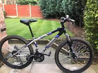 adults shockwave xt650 double didc mountain bike hardly used