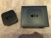 Apple TV 32G with gold standard HD cables