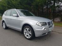 OCTOBER 2006 BMW X3 SE 2.0 DIESEL 6SPEED GREAT DRIVING VEHICLE-NO MOT- TRADE IN TO CLEAR -NO MOT-