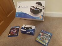 Playstation VR in immaculate condition for sale.