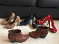 Women's high heel Shoes & boots size 5