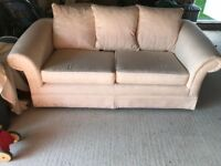 Off-white sofa - 3 seater