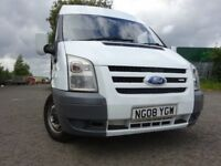 08 FORD TRANSIT VAN 2.2 PANEL VAN,MOT OCT 018,3 OWNERS FROM NEW,PART HISTORY,2 KEYS,LOVELY EXAMPLE
