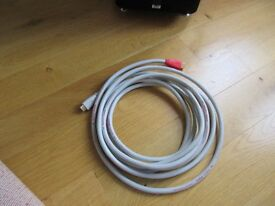 Chord Hdmi Silver Plus 1.3 lead cable wire interconnect 5m hardly used magnificent
